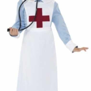 Ouderwets verpleegster kostuum voor meisjes carnaval