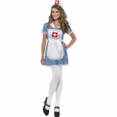 Verpleegster ondeugend zuster kostuum carnaval