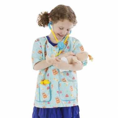 Verpleegster  Verpleegkundige verkleedkleding voor meisjes carnaval